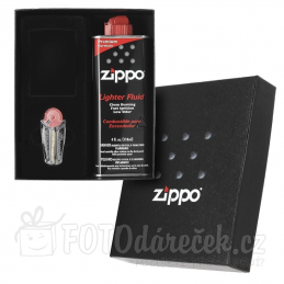 Zippo dárková kazeta benzín a kamínky