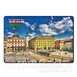 Magnetka Náměstí svobody Brno