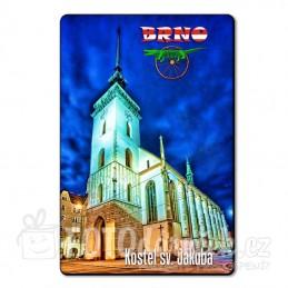 Magnetka kostel sv. Jakuba