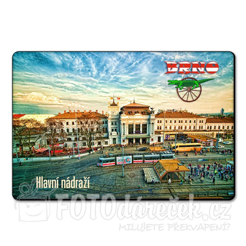 Magnetka hlavní vlakové nádraží Brno