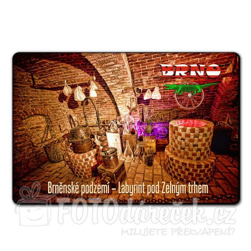 Magnetka brněnské podzemí - Labyrint pod Zelným trhem