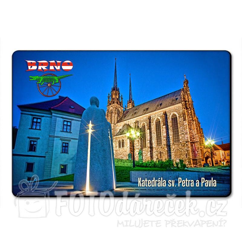 Magnetka katedrála sv. Petra a Pavla