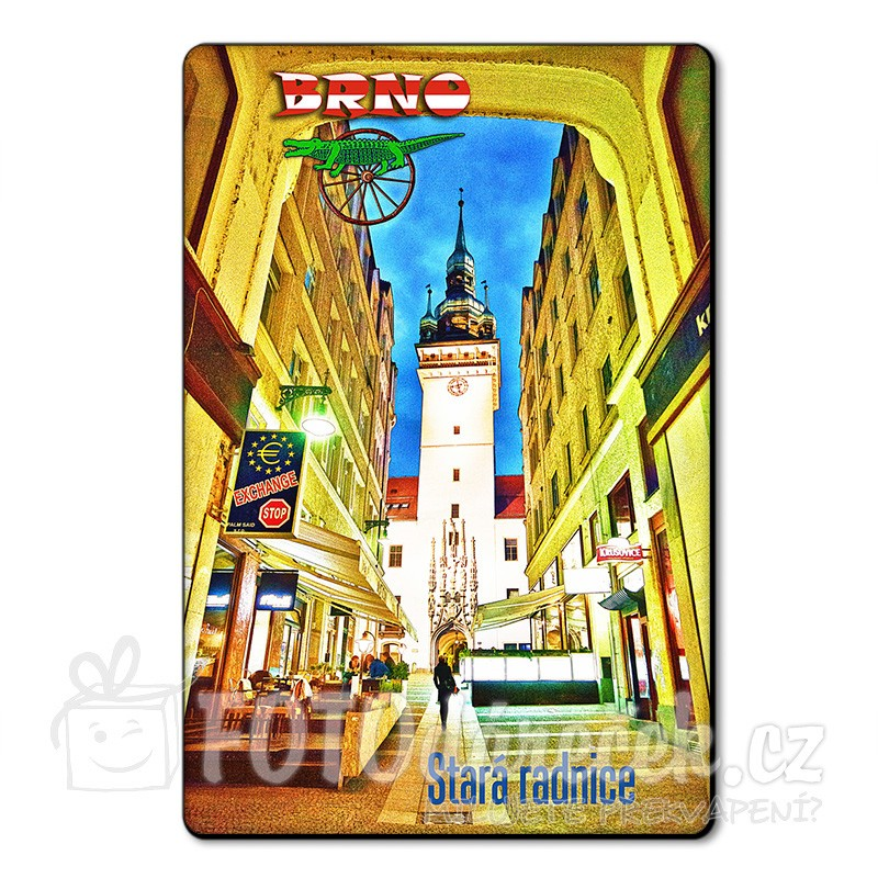 Magnetka Stará radnice Brno