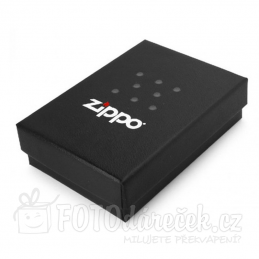 Zippo chrome satin box